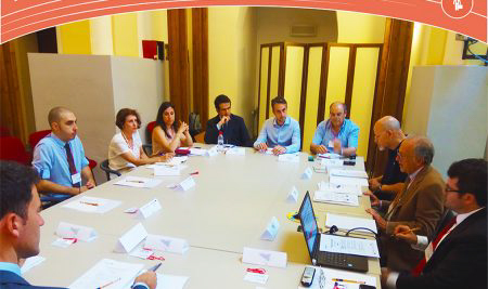 """Job Match 2020"" Kick off Meeting & First Meeting of the Steering Committee – Palermo 03.07.2018"