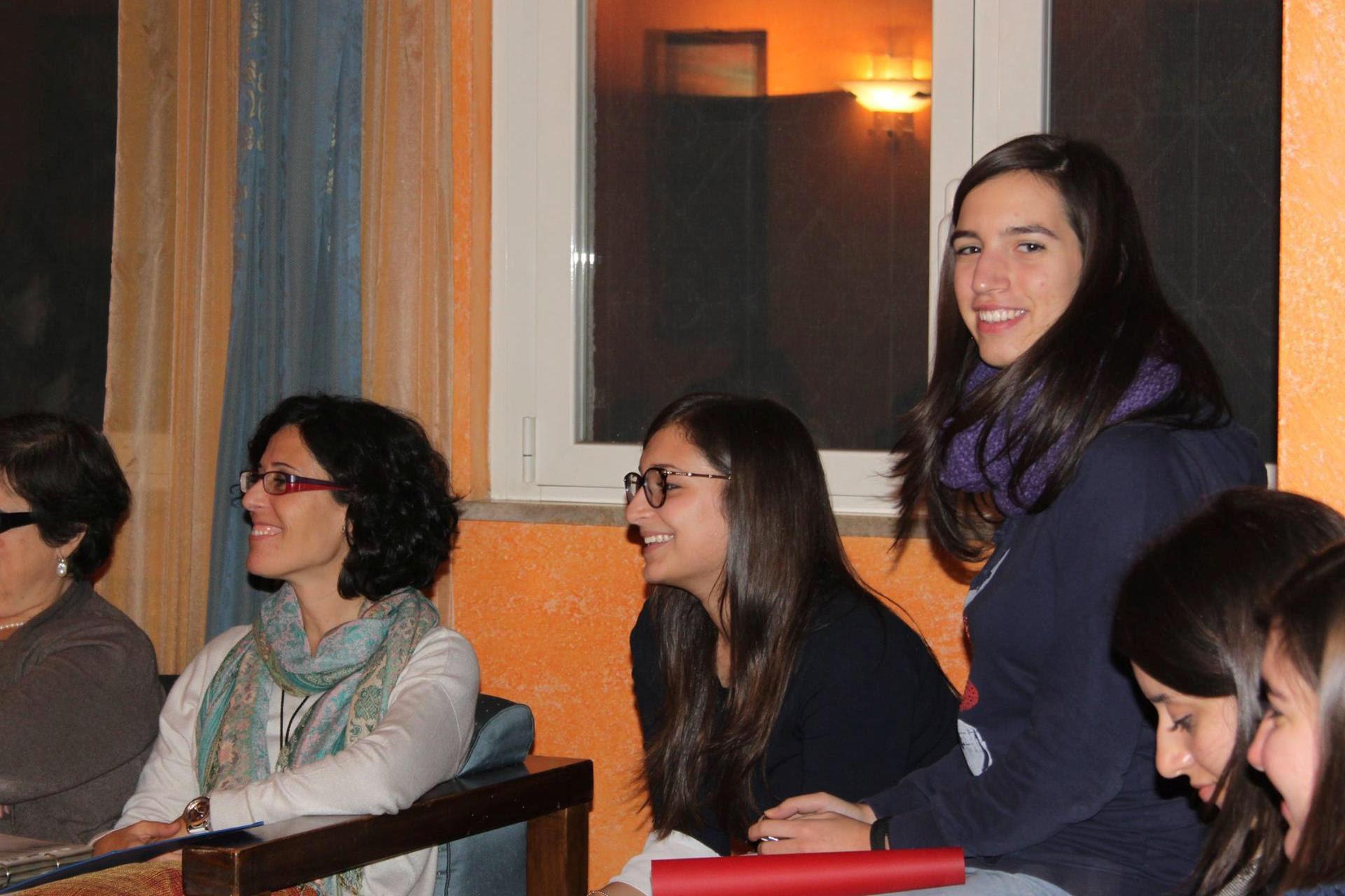 Foto di Gruppo Studentesse Fuori Sede Residenza Universitaria Rume di Palermo