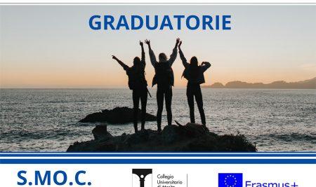 Pubblicata la graduatoria del progetto Erasmus Plus S.MO.C. 3