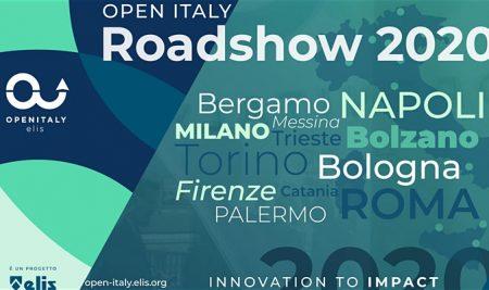 OPEN ITALY. Innovation to Impact ROADSHOW 2020 – Palermo 17 Febbraio 2020