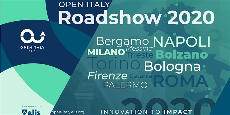 Come partecipare a Open Italy Road Show 2020 Elis ARCES