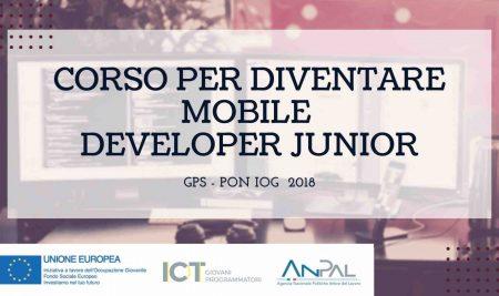 Corso per diventare Mobile Developer Junior nell'ambito del Progetto GPS