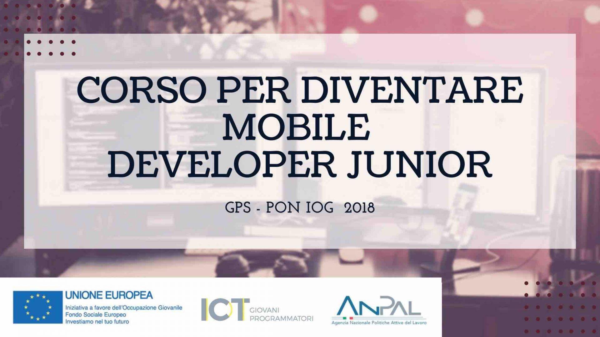 Corso per dicentare mobile developer junior