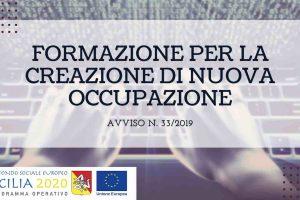Corsi di Formazione in Sicilia Avviso 33 2019