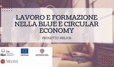 """Cerchi lavoro o formazione nella blue e circular Economy?  Il  Progetto """"HELIOS"""" può darti grandi opport"""