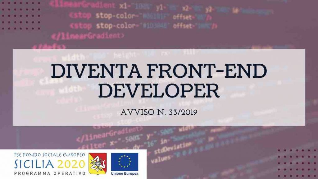 Corso in Front-end Developer