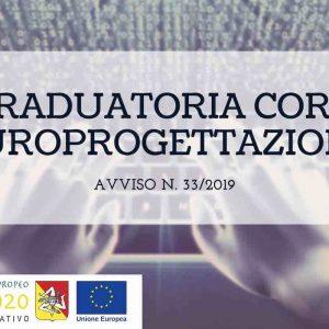 Graduatoria Prove di Selezione Corso Arces Avviso 33/2019 Europrogettazione